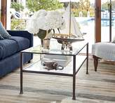 Pottery Barn Tanner Rectangular Coffee Table - Bronze finish