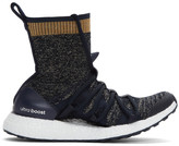 adidas by Stella McCartney Navy Ultra Boost X Mid Sneakers