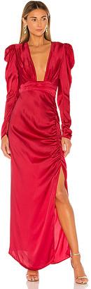 Rococo Sand x REVOLVE Poppy Deep V Gown