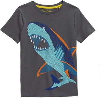 Boden Kids' Underwater Superstitch T-Shirt