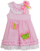 Rare Editions Seersucker Butterfly Dress, Baby Girls (0-24 months)