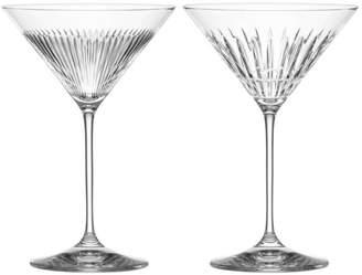 New Vintage Martini Glass, Set of 2