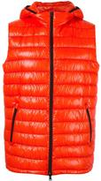 Herno zipped hooded gilet - men - Polyimide/Polyamide/Polyester/Feather Down - 48