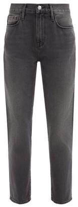 Frame Le Nouveau Straight-leg Jeans - Dark Grey
