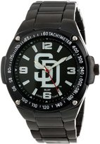 Game Time Unisex MLB-WAR-SD Warrior San Diego Padres Analog 3-Hand Watch