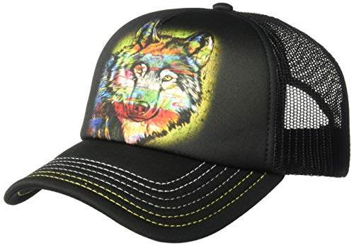 The Mountain Men's Painted Wolf Hat
