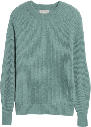 Everlane The Oversize Alpaca Blend Crewneck Sweater