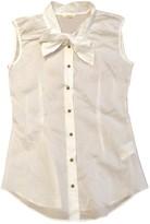 Mauro Grifoni White Cotton Top for Women