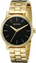 Nixon Women's A3612042 Small Kensington Analog Display Japanese Quartz Gold Watch