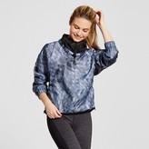 Champion Women's Woven Bomber Jacket - Grey Triangle Explode Print