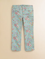 Ralph Lauren Toddler's & Little Girl's Floral Skinny Jeans
