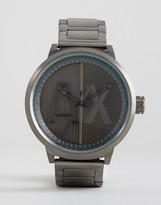 Armani Exchange Ax1362 Gunmetal Bracelet Watch