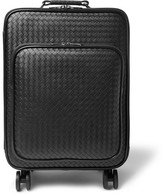 Bottega Veneta Intrecciato Leather Carry-On Suitcase