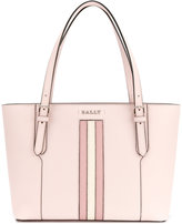 Bally stripe tote bag