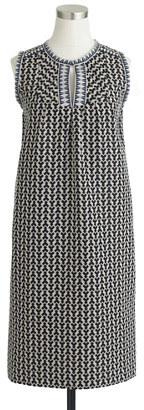 J.Crew Arrow-print shift dress