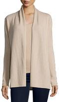 Neiman Marcus Modern Open Cashmere Cardigan