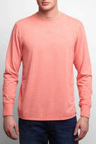 Faherty Long Sleeve Notch Crew Pullover