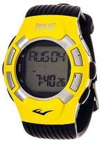 Everlast Wireless Fitness Tracker Watch Yellow