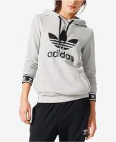 adidas Slim Pullover Logo Hoodie