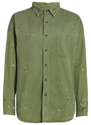 NSF Lewis Boyfriend Button-Down Shirt