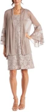 R & M Richards 2-Pc. Lace Dress & Jacket