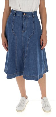See by Chloe A-Line Flared Skirt