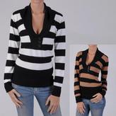 ADI Ci Sony by Junior's Long Sleeve V-neck Sweater