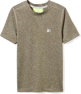 Starter Boys' Short Sleeve TRAINING-TECH Running T-Shirt with Ventilation Amazon Exclusive