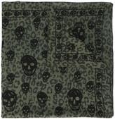 Alexander McQueen Skull print scarf - men - Cotton/Modal - One Size