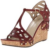 Adrienne Vittadini Footwear Women's Cherris Wedge Sandal