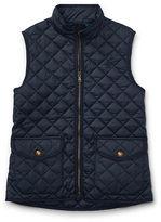 Ralph Lauren 7-16 Quilted Full-Zip Vest