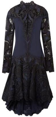 Jonathan Simkhai Paneled Embroidered Giupure Lace And Cady Dress