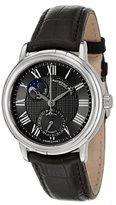 "Raymond Weil Men's 2839-STC-00209 ""Maestro"" Stainless Steel Automatic Watch with Black Leather Band"
