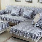 NJHK Simple modern sofa fabri slip napkins/ European-style living room sofa towel