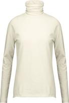 Haider Ackermann Stretch Cotton And Wool-Blend Turtleneck Sweater