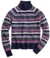 J.Crew Factory J. Crew Factory Fair Isle Turtleneck Sweater