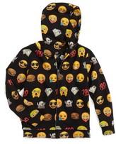 Little Eleven Paris Toddler Girl's Emoji Hoodie