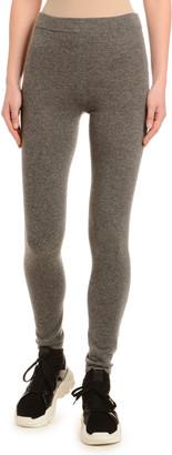 Agnona Cashmere Knit Long Leggings