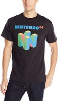 Nintendo Men's N64 Logo Short Sleeve T-Shirt