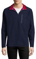 Brooks Brothers Men's Polar Fleece Zip Sweater