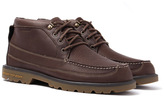 Sperry Lug Dark Brown Waterproof Leather Chukka Boots