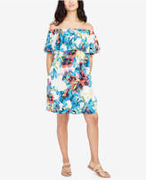 Rachel Roy Printed Off-The-Shoulder Dress, Created for Macy's