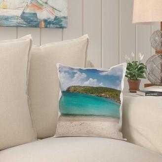 Bay Isle Home Nina USVI, St John, Salt Pond Bay Pillow Cover
