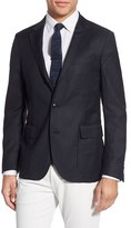 Gant Men's 'Hopsack' Trim Fit Wool Sport Coat