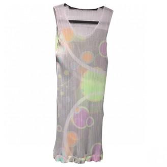 Pleats Please Multicolour Synthetic Dresses