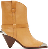 Thumbnail for your product : Isabel Marant Tan Limza Ankle Boots