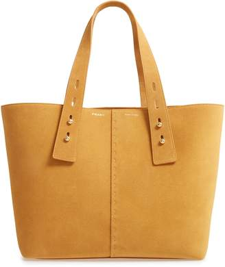 Frame Les Second Medium Suede Tote