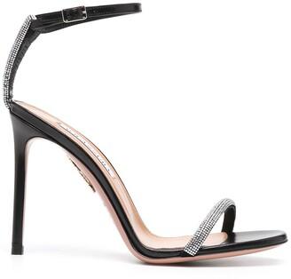 Aquazzura Moon Crystal 105mm sandals