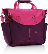 Okiedog Mondrian Sumo messenger diaper bag - purple