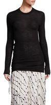 Helmut Lang Wool Side Tie Sweater